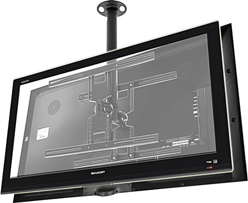 Lcd Tv Bracket Designed To Hang From Ceiling For Optimal