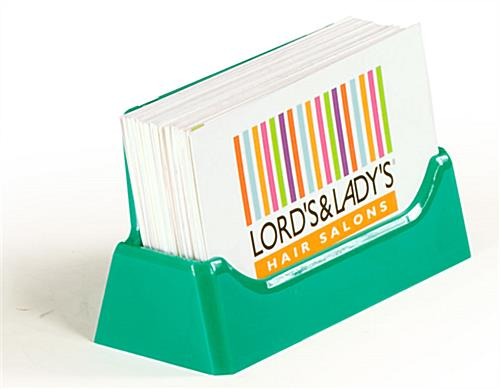 Business Card Holder Can Display Up To 49 Cards
