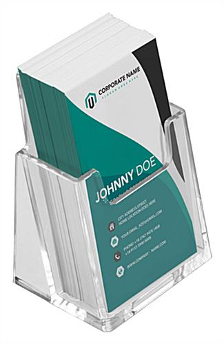 Vertical business card holders lightweight and durable business card holder has single vertical pocket colourmoves