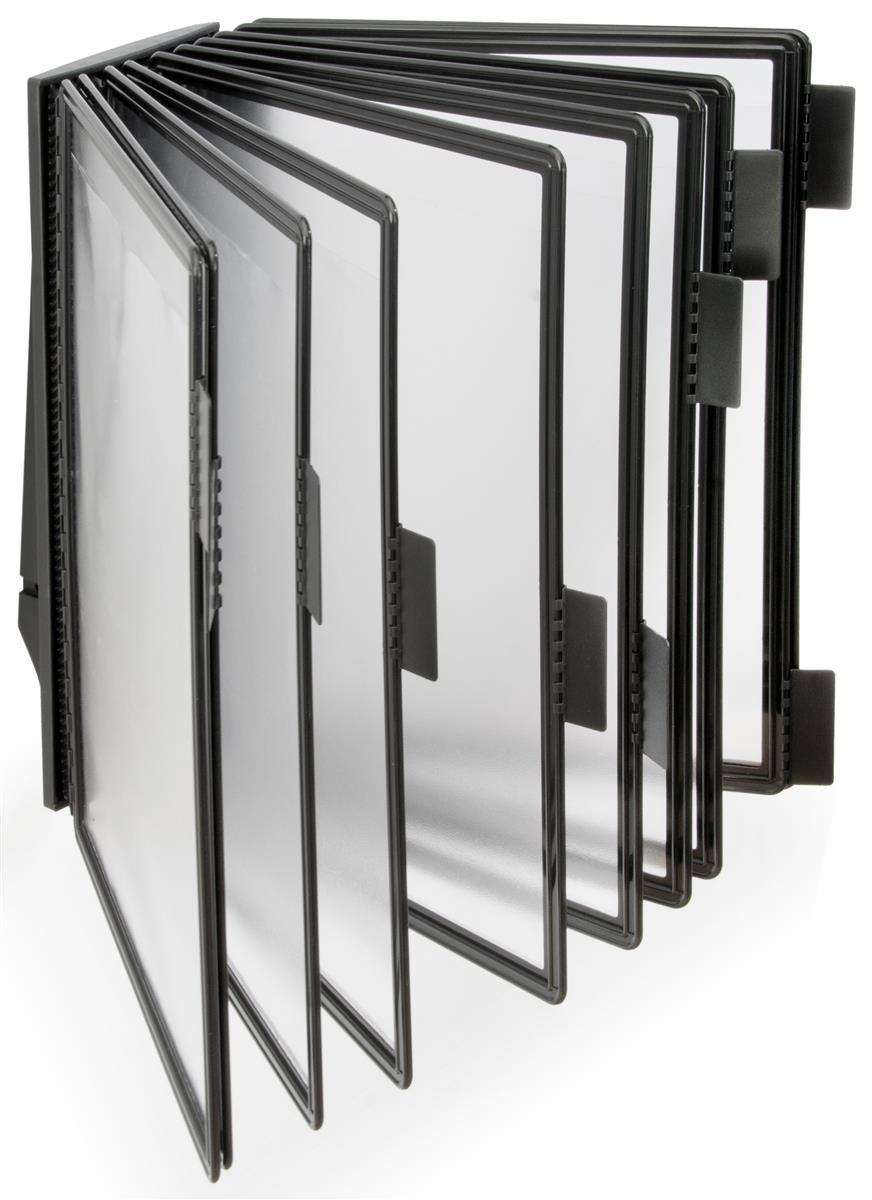 Wall Mount Binder Displays 10 Pocket Rack For Master Catalog