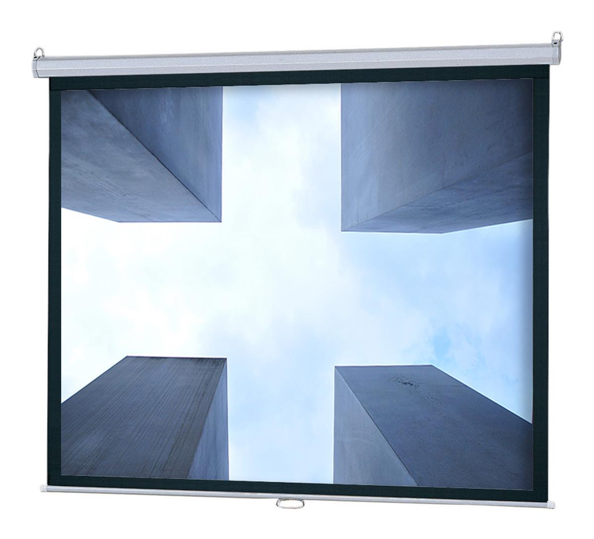 Hanging Projector Screen For Ceiling Or Wall Mount Use