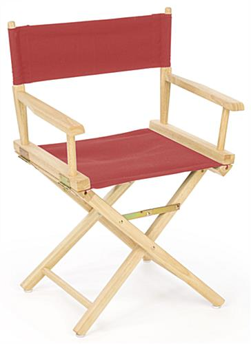 Exceptionnel Wood Director Chair