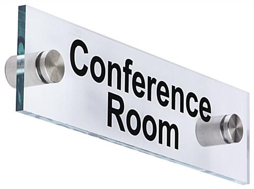 Conference Room  Wall Signs | Landscape Orientation  sc 1 st  Sign Standoffs & Conference Room