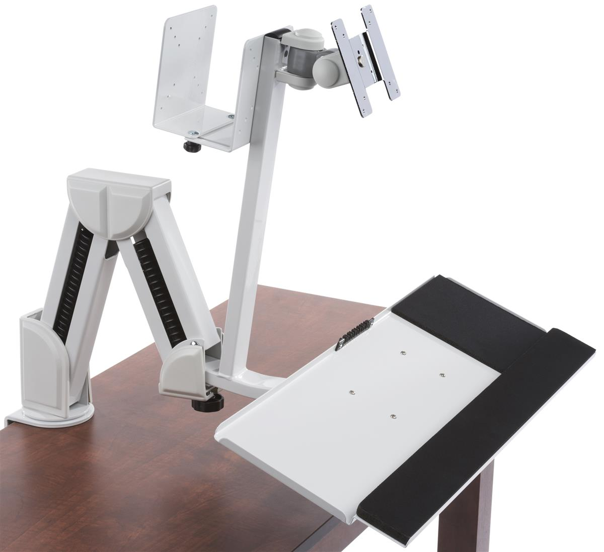 Monitor And Cpu Arms Adjustable Design