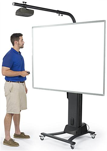 Whiteboard Stand With Wheels Fixed Or Mobile Positioning