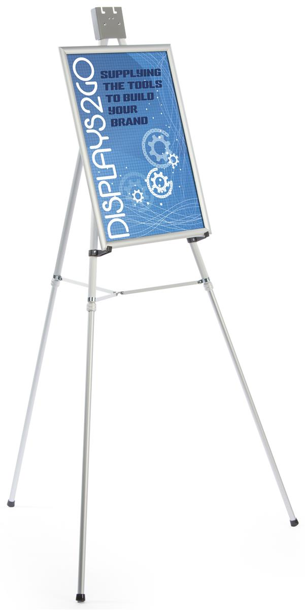 18x24 Silver Poster Easels Made Of Aluminum