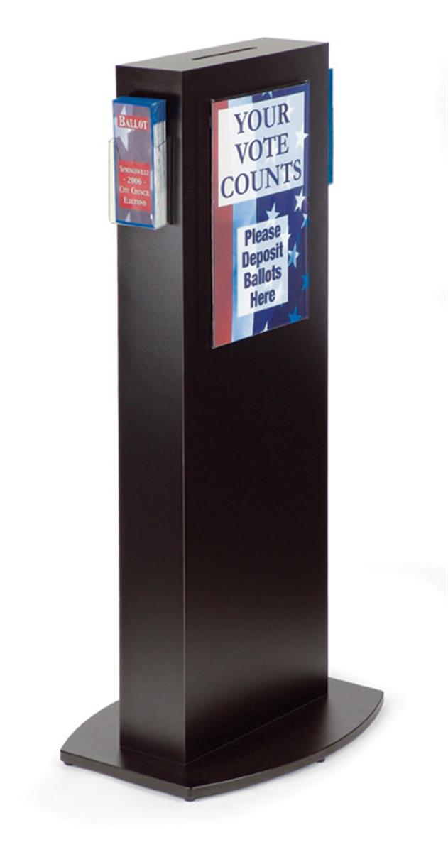 Floor Standing Comment Box Poster Frame Amp Side