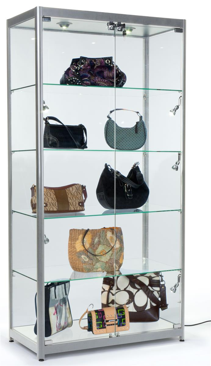 The Silver Frame Display Cases Come With Several Great