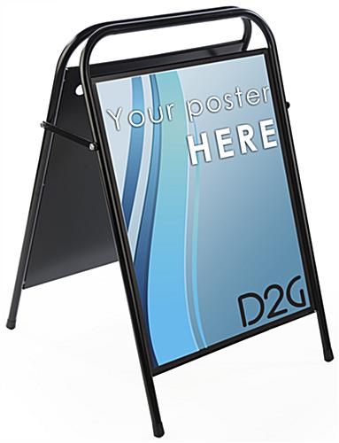22 x 28 portable a frame sign sandwich sign is double - Porta poster amazon ...