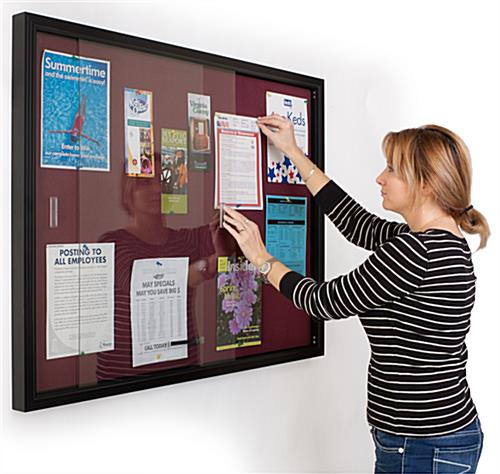 This Sliding Door Fabric Board Is An Effective Way To Keep
