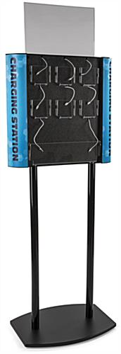 Floor Standing Public Phone Charging Station