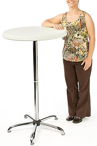 Portable High Table | 47-Inch Bar Height Pub Stand