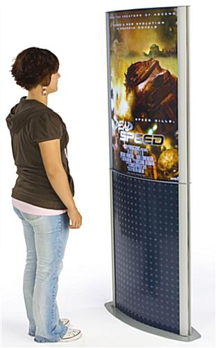 "Advertising Display With 24"" x 36"" Poster Frame"
