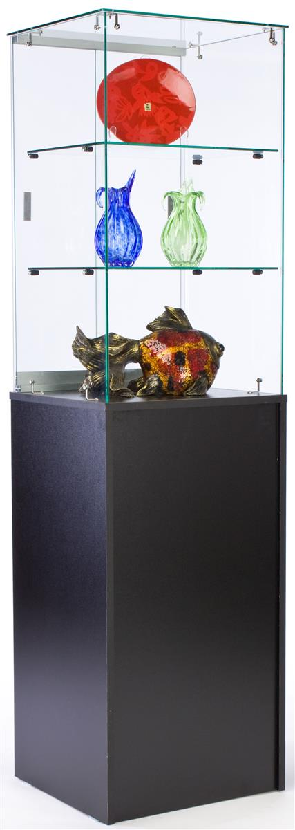 this modern trophy case for sale features same day shipping if the order is placed before 1 p m. Black Bedroom Furniture Sets. Home Design Ideas