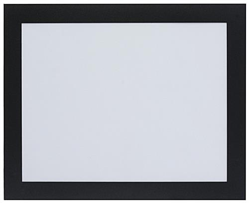 Adhesive Window Display Frame Black Border For 8 5 X 11