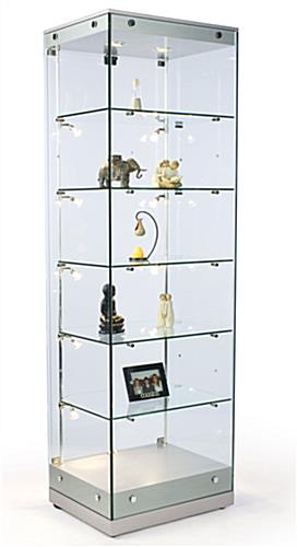 glass cabinets ...  sc 1 st  Display Cabinets & These Display Cabinets Are Versatile Free Standing Showcase with ...