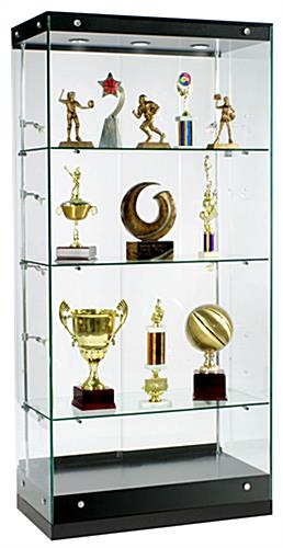 Awards Display Case Crafted By Grace Tyler Commerical Showcases