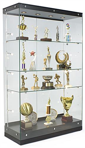 Award Display w/ Top & Side Lighting