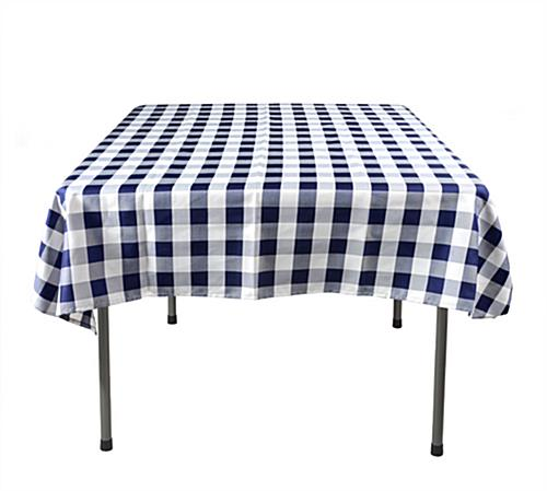 Superieur Checkered Tablecloth