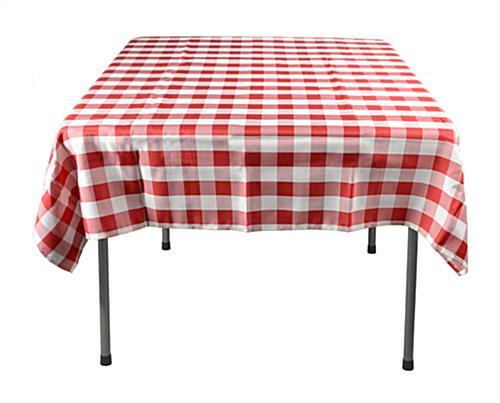Red U0026 White Tablecloth