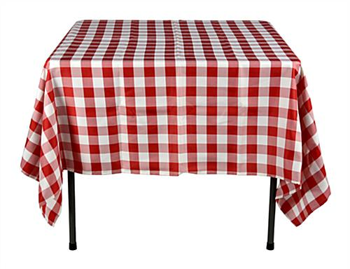 Red U0026 White Tablecloths