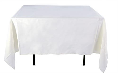 Cheap Square Tablecloth | Fits 4' Tables