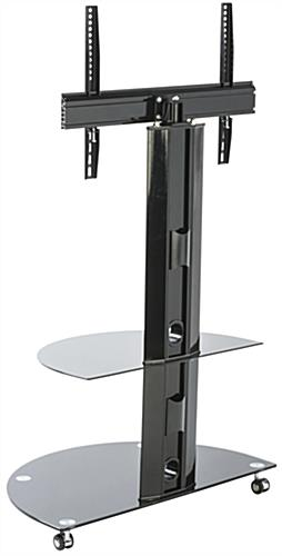 ... Glass And Metal TV Stand, VESA Compatible ...