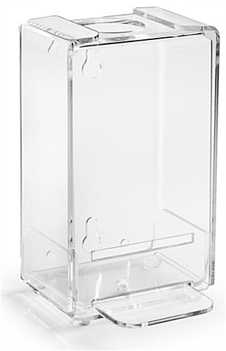 Acrylic Sanitizer Dispenser Wall Or Countertop Display