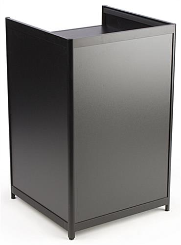 Black Retail Register Stands Locking Drawer