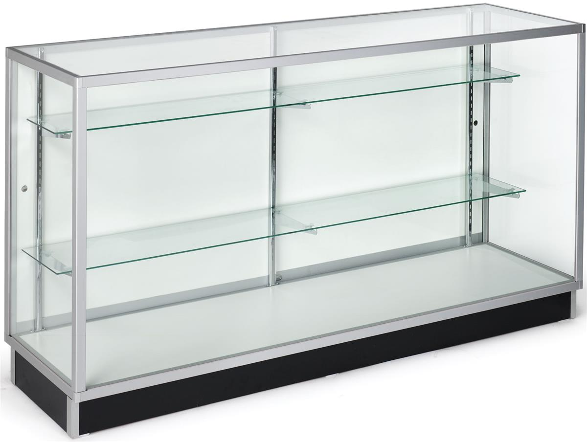 sc 1 st  Displays2go & Glass Display Cabinets | Ship Unasembled for Low Pricing