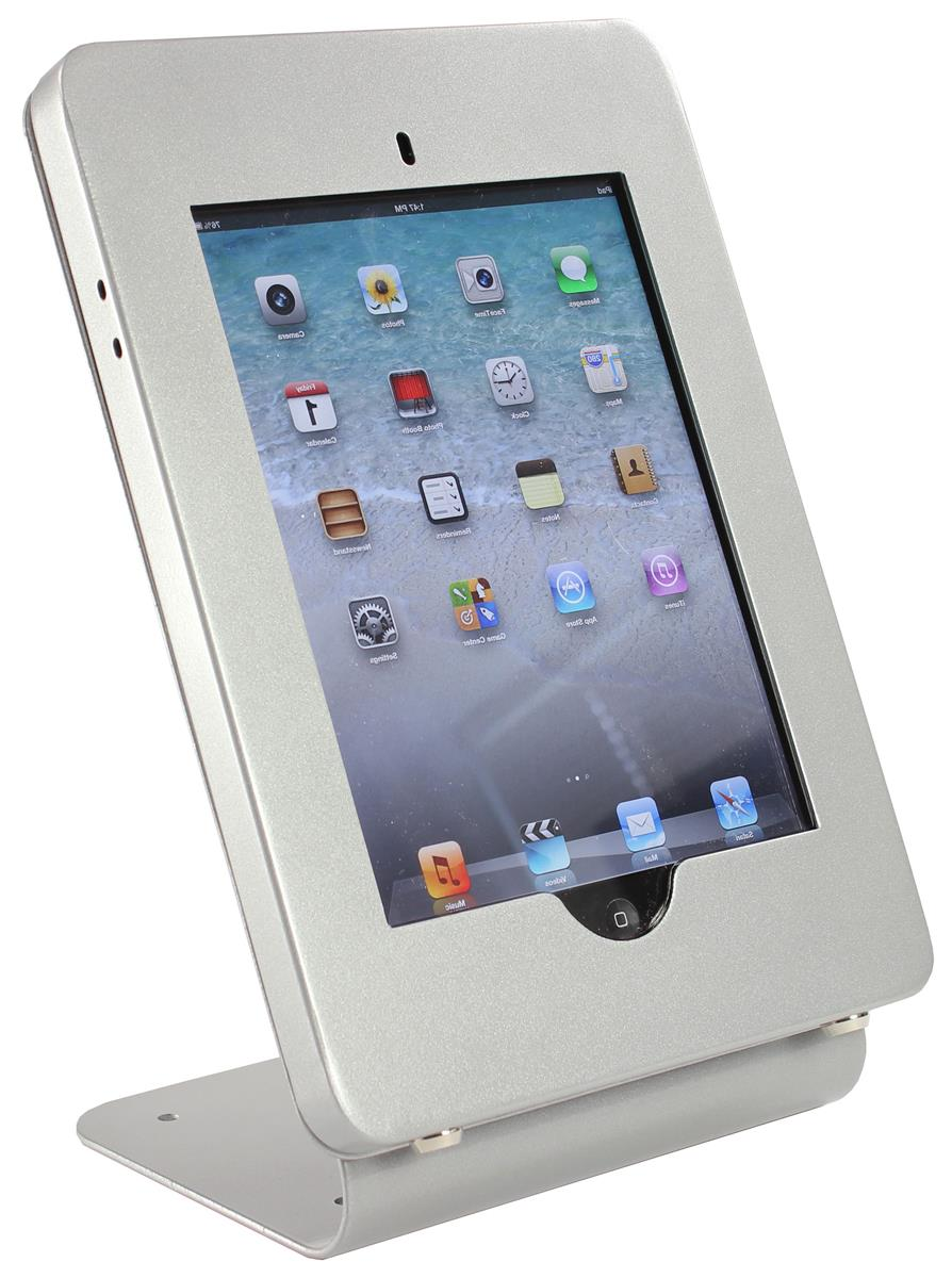Ipad Counter Mount Vertical Holder With Exposed Home Button
