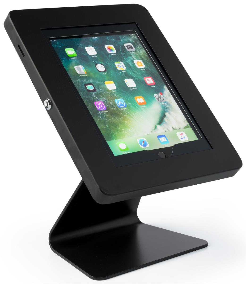 Countertop Ipad Mount Secure Tablet Enclosure