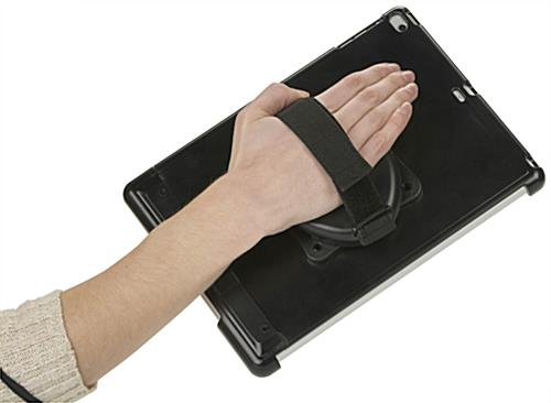 Handheld iPad Air Case in Use