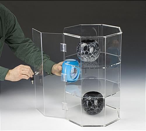 This Countertop Display Case Locks To Prevent Jewelry