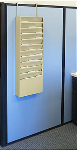 Wall File Holders - Cubicle Mounted