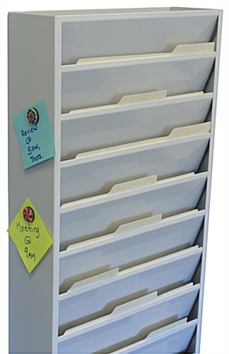 Vertical File Organizer 11 Pockets