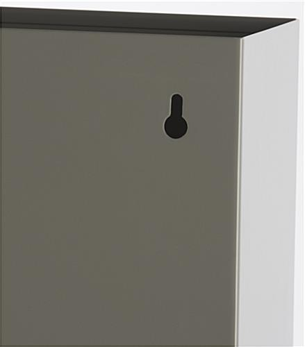File Holder with Keyhole Design
