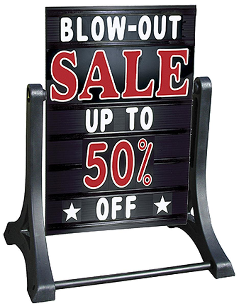 portable a frame changeable letter folding signs a frame this sidewalk sign allows frequent message changes buy 838