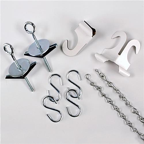 "Poster Hanging Kits With 60"" Chain"