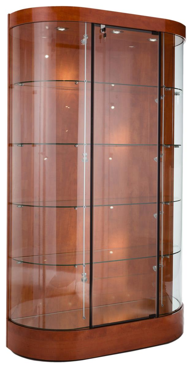 These Wood And Glass Trophy Cases For Sale Are Quick Ship