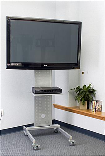 Quick Space Portable Restrooms Toilets Bathrooms Reno: Monitor Stand With Wheels