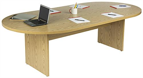 Oak Conference Table, Plywood