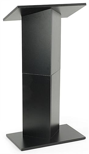 portable column style lectern