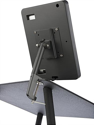 Rotating & Tilting Black iPad Lecture Podium
