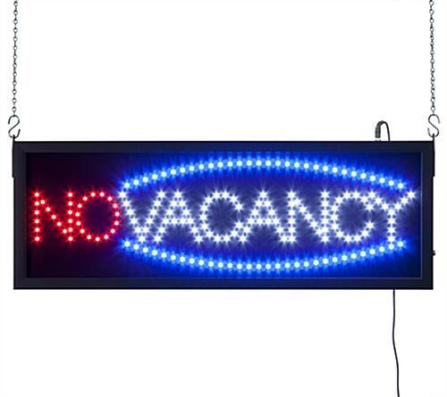 Vacancy LED Sign Designed For Commercial Use