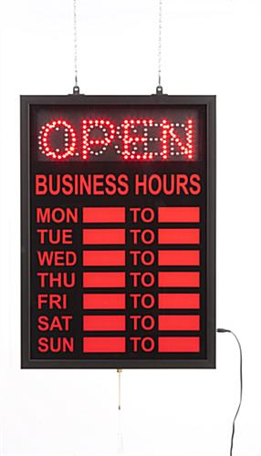 LED Open Signs
