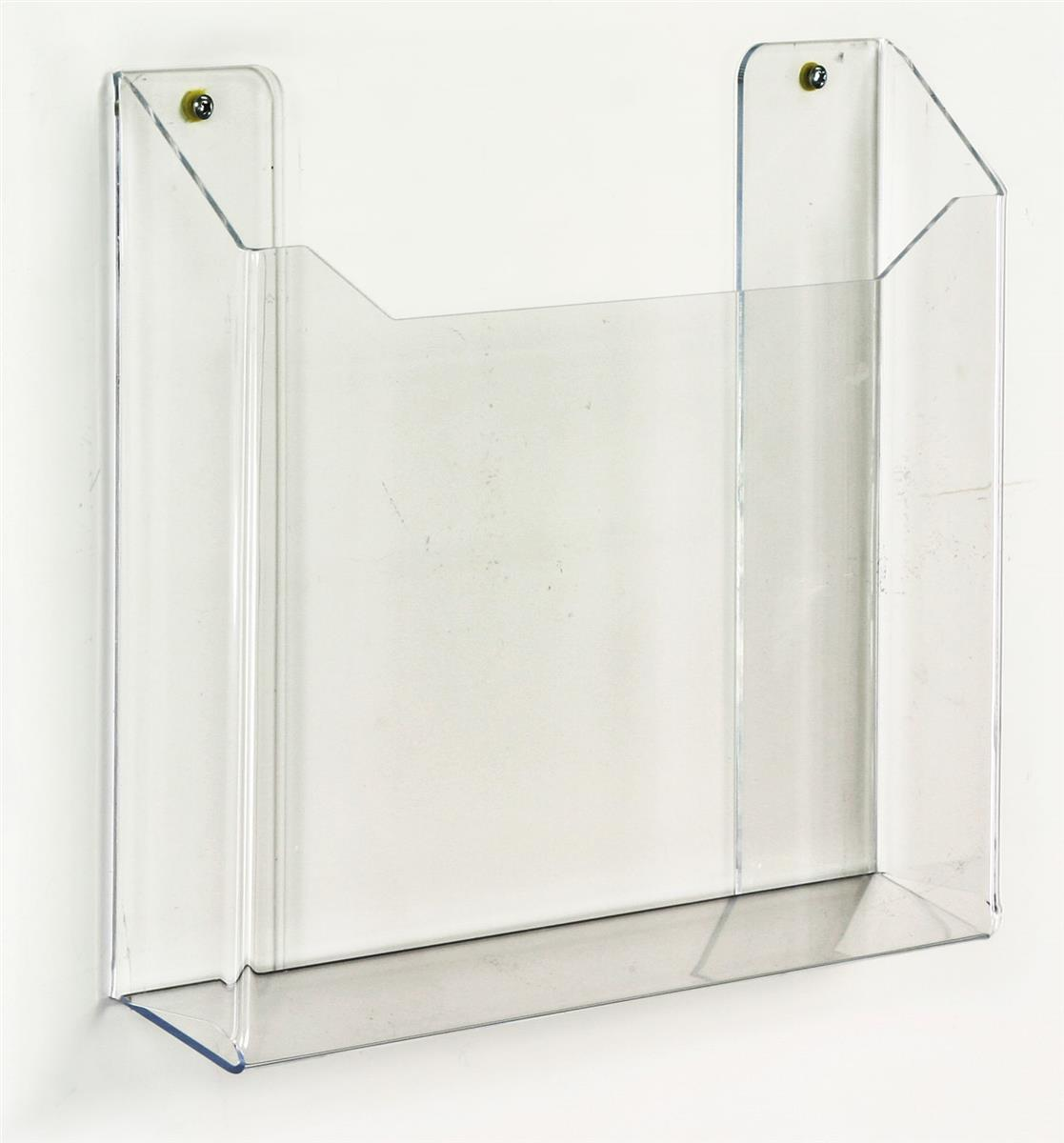 Hanging Newspaper Rack Acrylic Literature Holder With