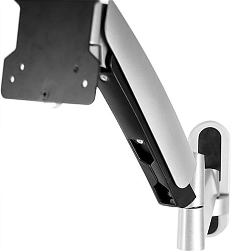 Wall Mounted Monitor Arm Amp Flat Panel Bracket Adjustable