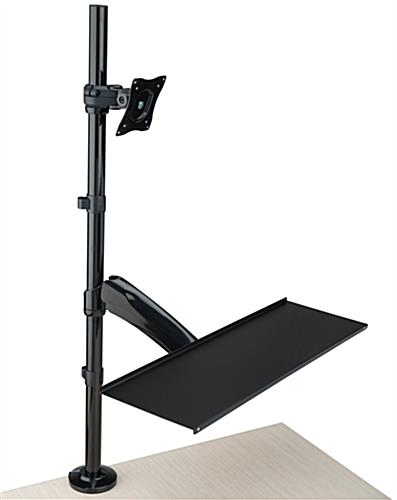 Charmant Height Adjustable Extra Tall Monitor Arm ...