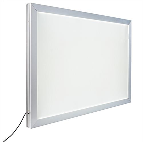 This Double Sided Lightbox Includes A Ceiling Hanging Kit